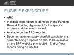 eligible expenditure3