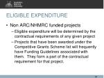 eligible expenditure4