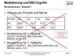 modellierung und db2 zugriffe13
