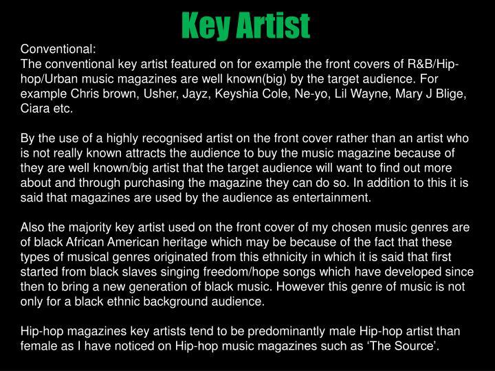 Key Artist
