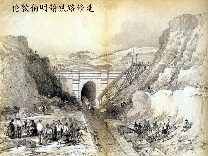 伦敦伯明翰铁路修建