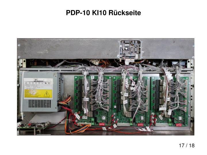 PDP-10 KI10 Rückseite