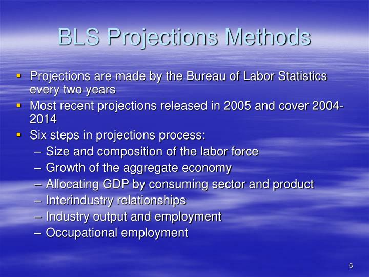 BLS Projections Methods