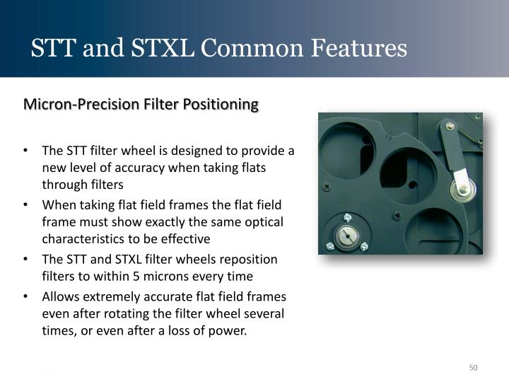 STT and STXL Common Features