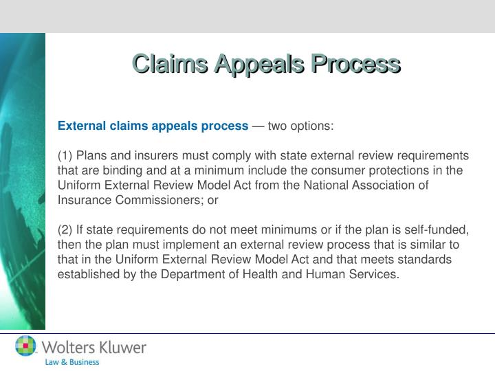 Claims Appeals Process