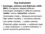 key instrument