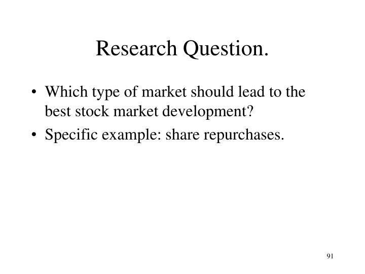 Research Question.