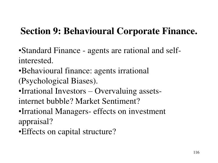 Section 9: