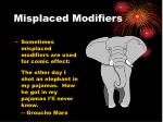 misplaced modifiers2