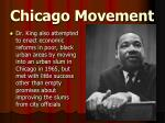 chicago movement