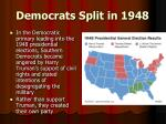 democrats split in 1948