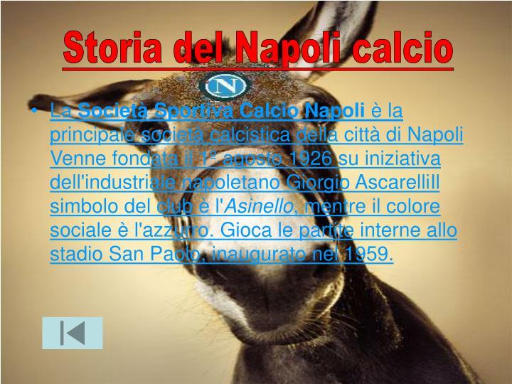 Storia del Napoli calcio