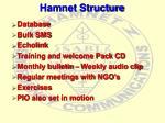 hamnet structure