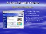 aviation weather center