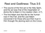 rest and godliness titus 3 53