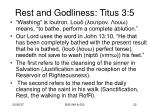 rest and godliness titus 3 54