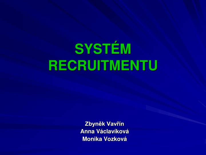 syst m recruitmentu n.