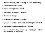 adrian wilson the making of man midwifery