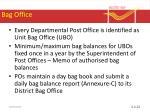 bag office