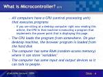 what is microcontroller 2 7