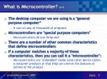 what is microcontroller 3 7