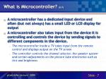 what is microcontroller 5 7