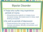 bipolar disorder1