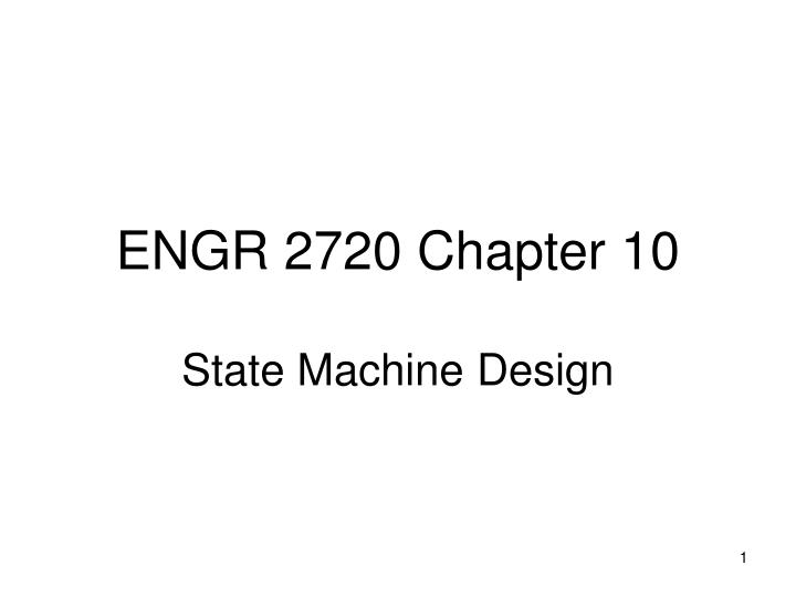Engr 2720 chapter 10