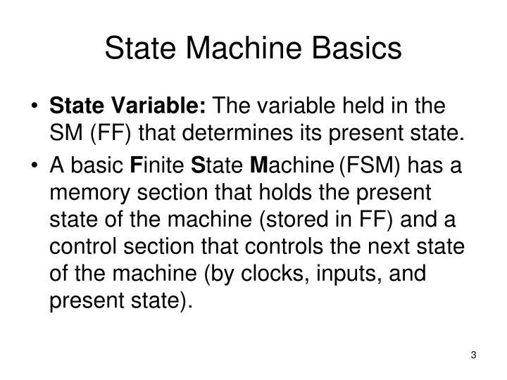 State machine basics