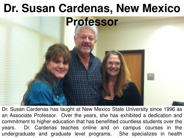 Dr. Susan Cardenas, New Mexico Professor