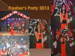 fresher s party 2013