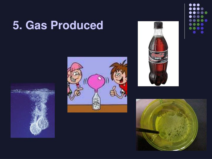 5. Gas Produced