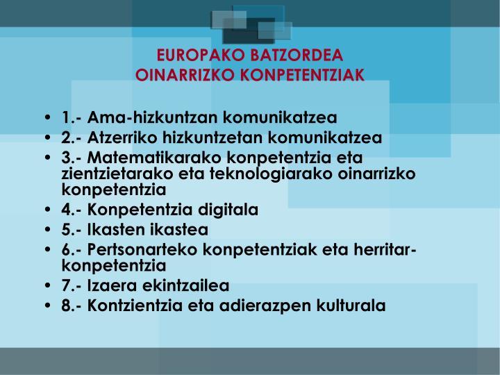 EUROPAKO BATZORDEA