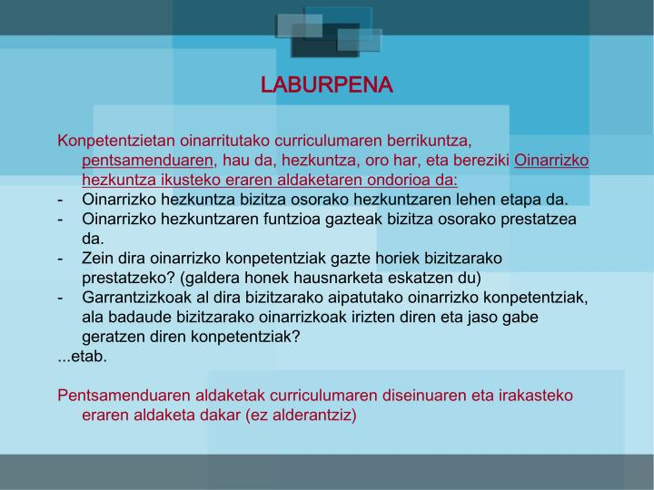 LABURPENA