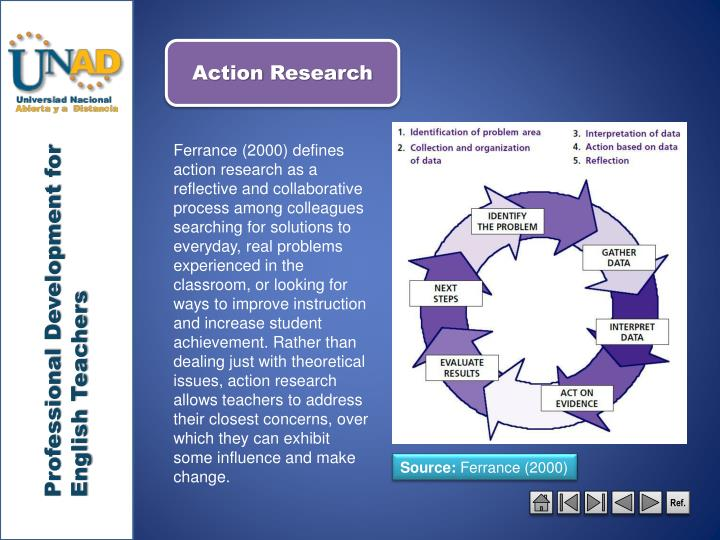 my action research teaching how Action research is an international, interdisciplinary, peer-reviewed journal, which is a forum for the development of the theory and practice of action research the aim of the journal is to offer a viable alternative to dominant 'disinterested' models of social science, one that is relevant to people in the conduct of their lives, their organizations and their communities.