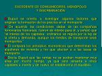 excedente de consumidores monopolio y discriminaci n