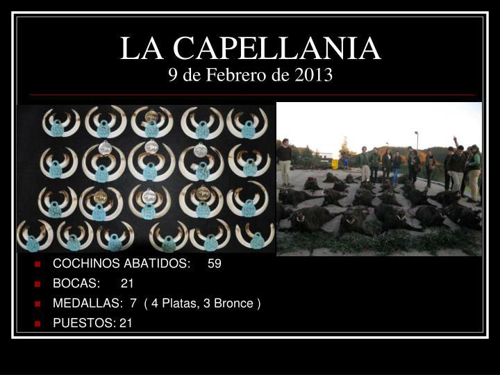 LA CAPELLANIA