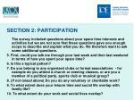 section 2 participation