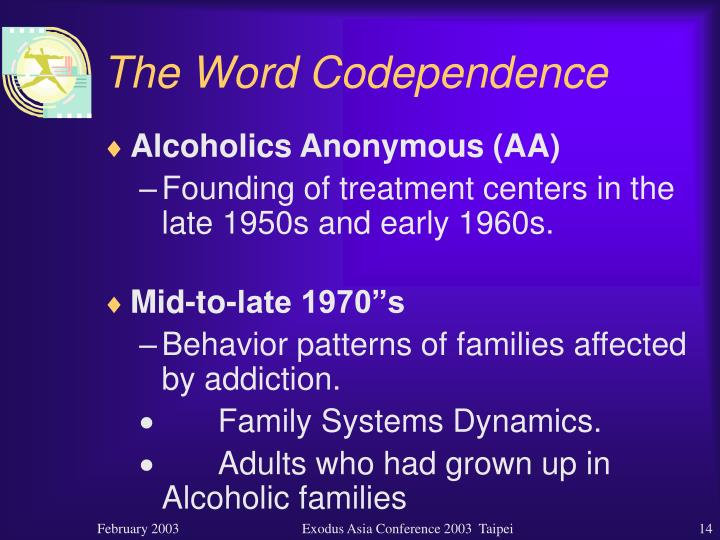 The Word Codependence