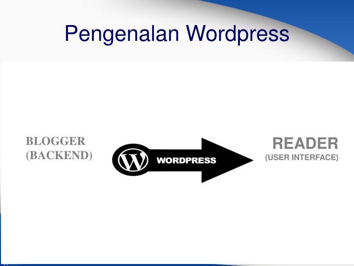 Pengenalan Wordpress