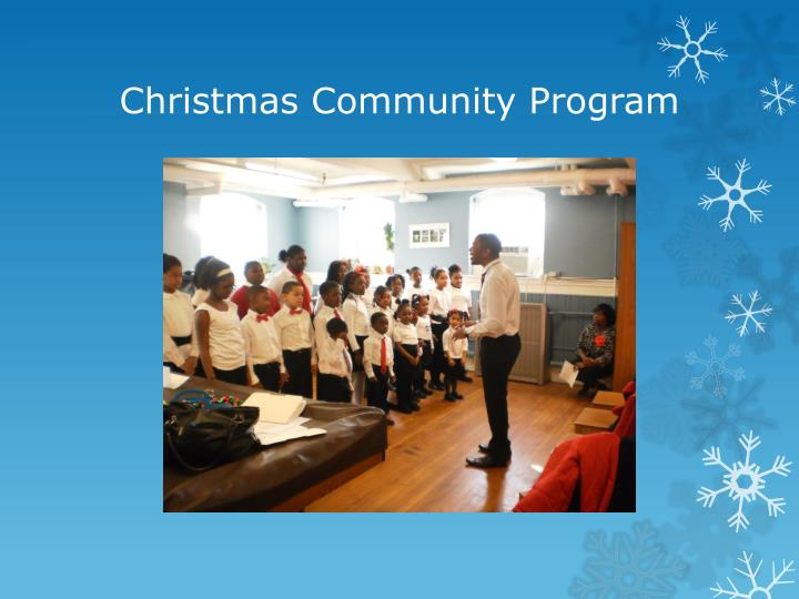 Christmas Community Program