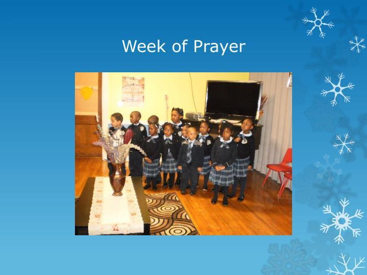 Week of Prayer