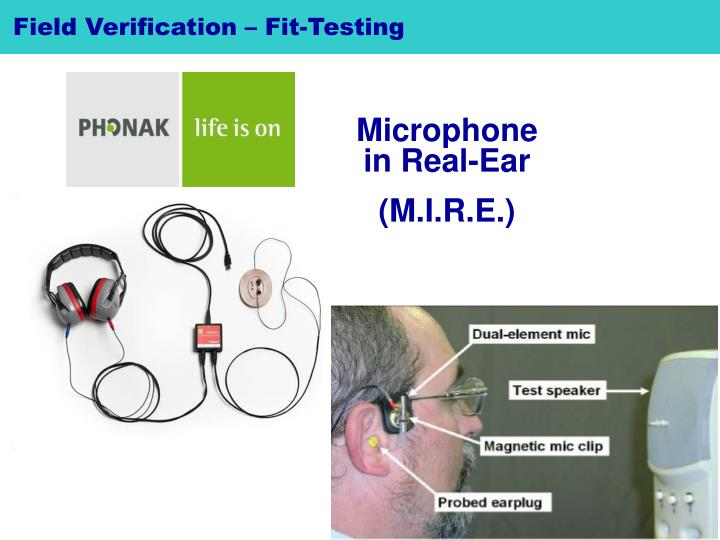 Field Verification – Fit-Testing