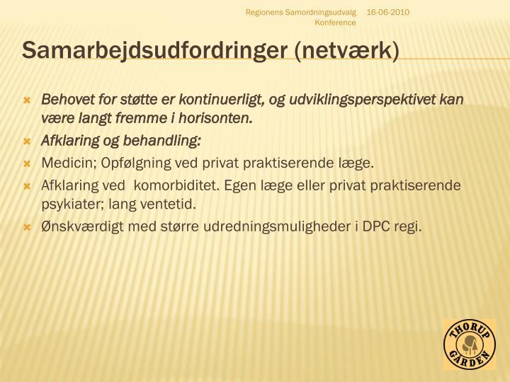 Samarbejdsudfordringer (netværk)