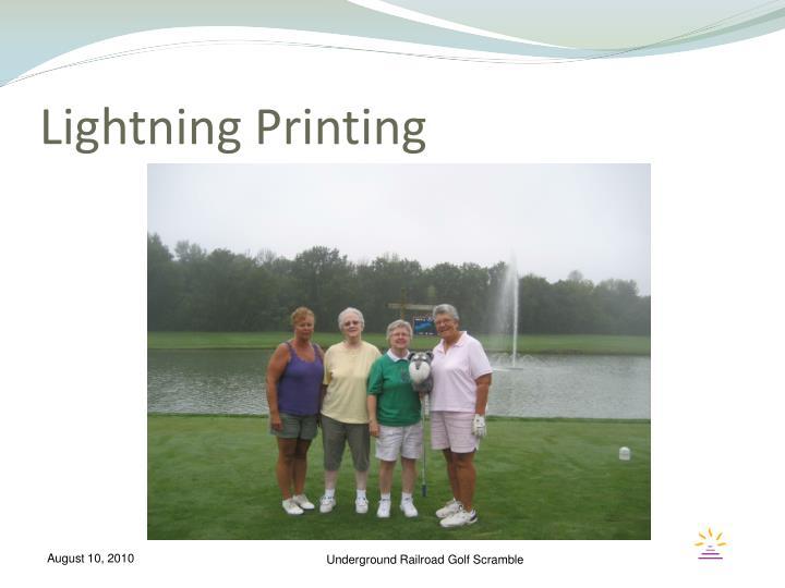 Lightning Printing