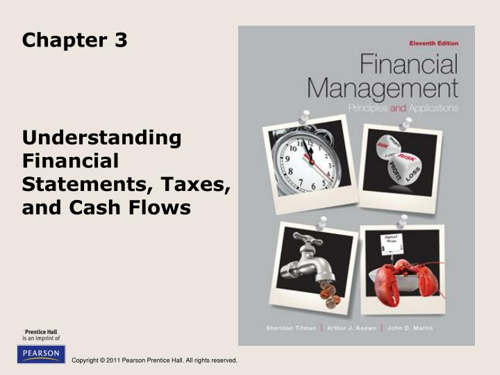 understanding financial statements taxes and cash flows n.
