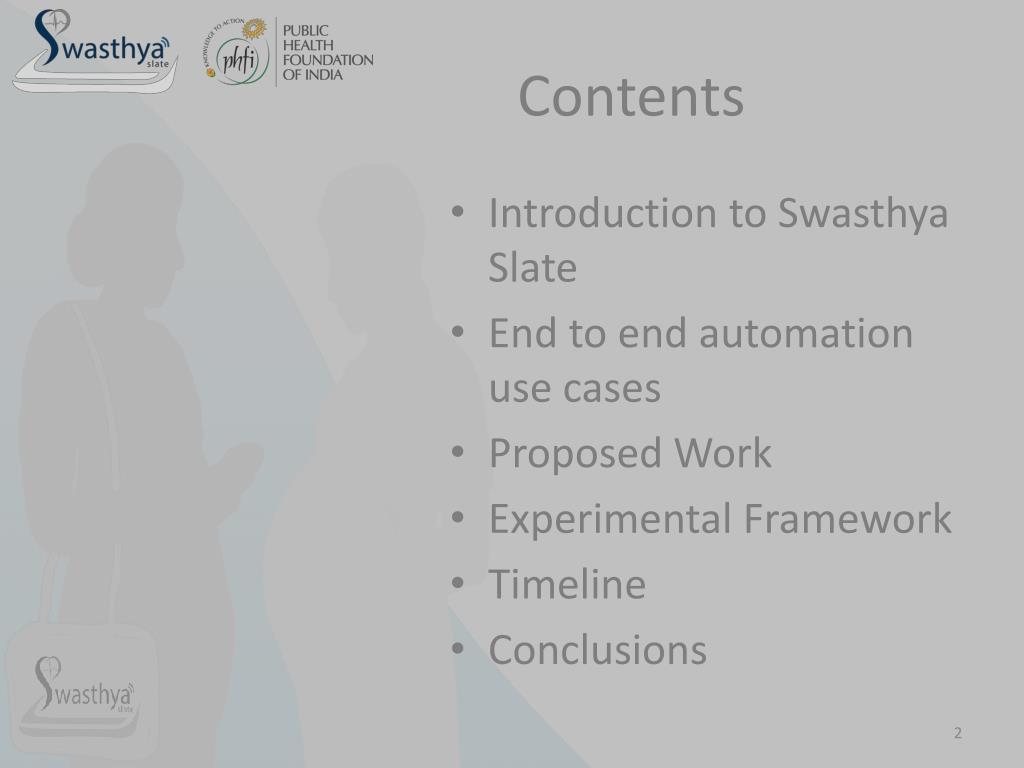 Slate Framework