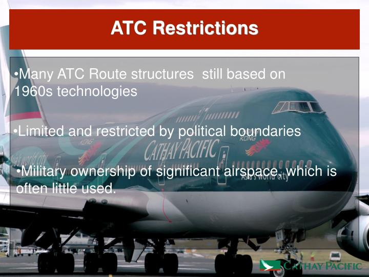 ATC Restrictions