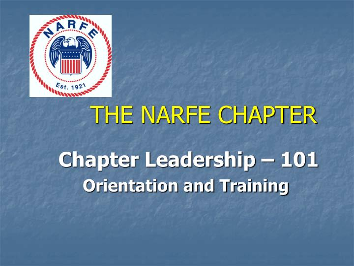 the narfe chapter n.