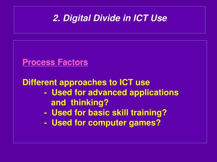 2. Digital Divide